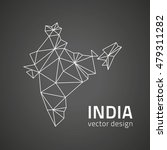 india vector black triangle... | Shutterstock .eps vector #479311282