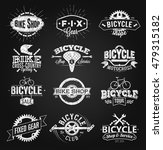 typographic bicycle label and... | Shutterstock .eps vector #479315182