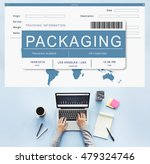 logistics delivery cargo... | Shutterstock . vector #479324746