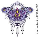 butterfly illustration   Shutterstock .eps vector #479344036
