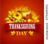illustration of a thanksgiving...   Shutterstock .eps vector #479349592
