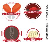 set of barbecue illustrations...   Shutterstock .eps vector #479351422