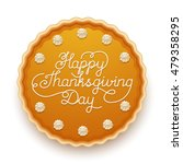 happy thanksgiving day... | Shutterstock .eps vector #479358295