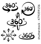 360 degree view related vector... | Shutterstock .eps vector #479359156