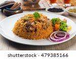 lamb madghout  popular arabic...   Shutterstock . vector #479385166