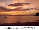 stunning sunset at the sea coast | Shutterstock . vector #479396776