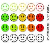 set of emoticons. emoji rank ...   Shutterstock .eps vector #479410852