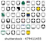 us state route markers vector... | Shutterstock .eps vector #479411455