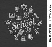 back to school concept and... | Shutterstock . vector #479430832