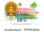 creative sale banner or sale... | Shutterstock .eps vector #479442826