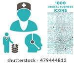 medical business vector bicolor ... | Shutterstock .eps vector #479444812