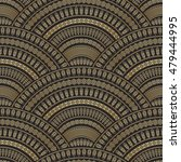 vector abstract seamless... | Shutterstock .eps vector #479444995