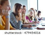 students in class  color toned... | Shutterstock . vector #479454016