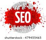 seo   search engine... | Shutterstock . vector #479455465