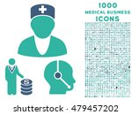 medical business vector bicolor ... | Shutterstock .eps vector #479457202