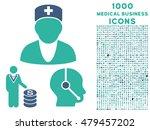 medical business vector bicolor ... | Shutterstock .eps vector #479457202