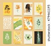 autumn colorful invitation ... | Shutterstock .eps vector #479461195