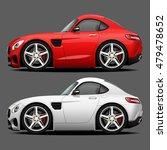 vector modern cartoon car ... | Shutterstock .eps vector #479478652