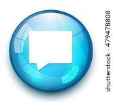 talk bubble icon  | Shutterstock .eps vector #479478808
