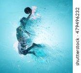 slam dunk  basketball  3d... | Shutterstock . vector #479496232