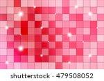pink mosaic. polygonal pattern...   Shutterstock .eps vector #479508052