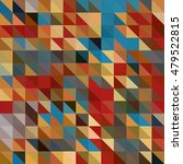 pattern design colorful squares ... | Shutterstock .eps vector #479522815