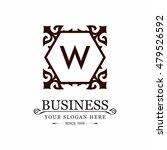 set luxury logos template... | Shutterstock .eps vector #479526592