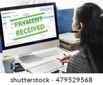 payment received taxation tax... | Shutterstock . vector #479529568