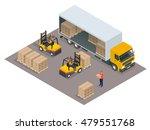 logistics. isometric... | Shutterstock .eps vector #479551768