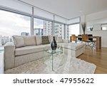 Luxury Living Room With Floor...