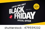 black friday sale banner | Shutterstock .eps vector #479559232