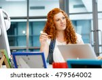 creative business woman in... | Shutterstock . vector #479564002