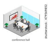 business meeting in an office... | Shutterstock .eps vector #479569852