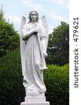 angel sculpture. angel with...   Shutterstock . vector #479621