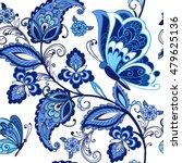 traditional oriental seamless... | Shutterstock .eps vector #479625136