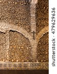 Small photo of The Chapel of Bones (Capela dos Ossos) is one of the best known monuments in Evora, Portugal