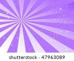 purple burst rays