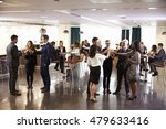 delegates networking at... | Shutterstock . vector #479633416
