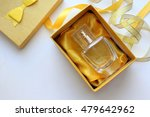 bottle of woman perfume on... | Shutterstock . vector #479642962