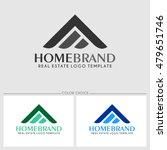 home brand. real estate logo... | Shutterstock .eps vector #479651746
