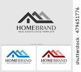 home brand. real estate logo... | Shutterstock .eps vector #479651776