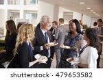 delegates networking during... | Shutterstock . vector #479653582