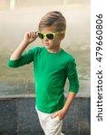 stylish little boy in... | Shutterstock . vector #479660806