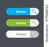 set of vector web interface... | Shutterstock .eps vector #479668312
