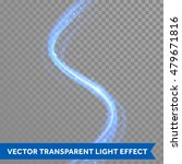vector blue light trace effect. ... | Shutterstock .eps vector #479671816