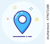 map marker  pointer icon