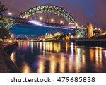 the tyne bridge over the river... | Shutterstock . vector #479685838