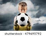 aspiring young soccer player... | Shutterstock . vector #479695792