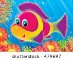 colorful fish of a coral reef | Shutterstock . vector #479697