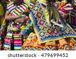 peruvian dancers at the parade... | Shutterstock . vector #479699452